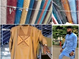 Des Tissus Goodluck modèle entrepreneur disponible chez T-Express à 9000 livraison gratuite partout au Bénin