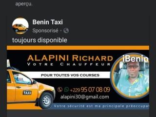 Bénin taxi le transport urbain
