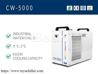 Petit refroidisseur d'eau CW5000 pour graveur laser CO2