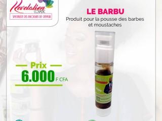 """""""Le barbu"""" pour la pousse des barbes et moustaches"""