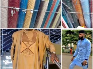 Tissus Goodluck de grande qualité disponibles en gros et en détail à bon prix, d'origine Dubaïenne