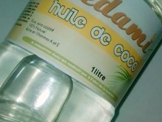 "Huile de coco extra vierge ""Sèdami"""